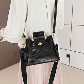 Ericdress Thread PU Alligator Rectangle Tote Bags