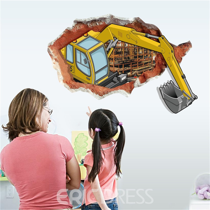 Ericdress Creative Cartoon Wall Stickers / Wall Decorations