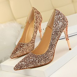 Ericdress Glueing Slip-On Pointed Toe Stiletto Heel Prom Shoes фото