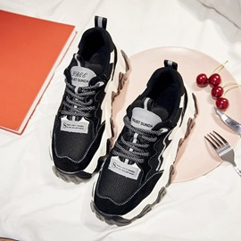 Ericdress Round Toe Lace-Up Low-Cut Korean Sneakers