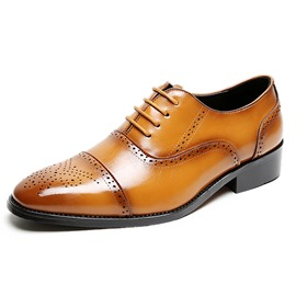Ericdress Low-Cut Upper Plain Round OL Toe Men's Oxfords