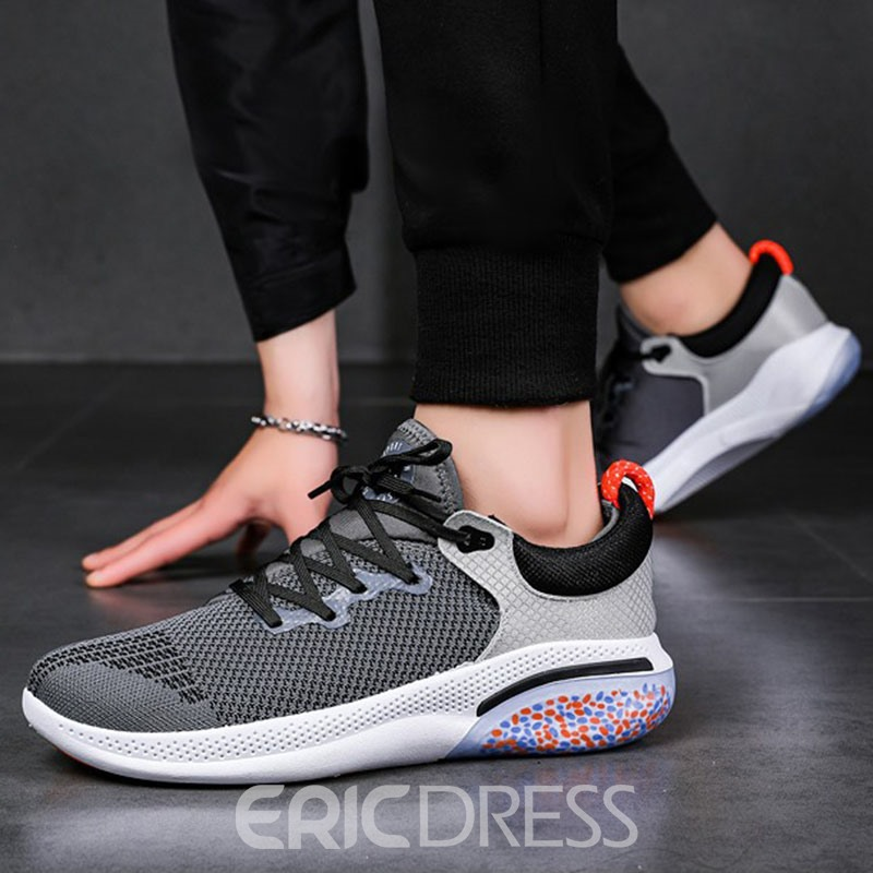 Ericdress Low-Cut Upper Platform Lace-Up Mesh Sneakers