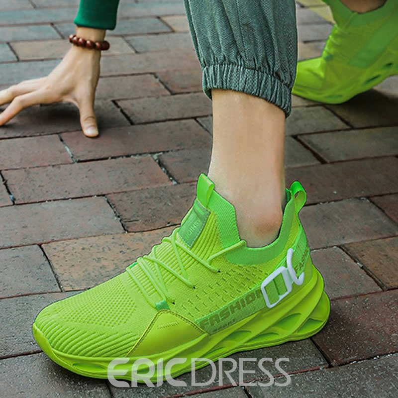 Ericdress Low-Cut Upper Lace-Up Platform Mesh Sneakers
