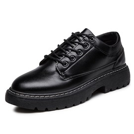 Ericdress Plain Low-Cut Upper PU Men's Casual Shoes