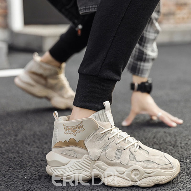 Ericdress Platform Lace-Up Sports Thread Sneakers