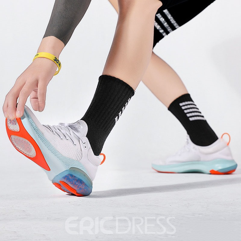 Ericdress Lace-Up Low-Cut Upper Sports Round Toe Sneakers