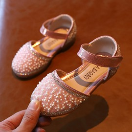 Ericdress Round Toe Princess Baby Girl Shoes