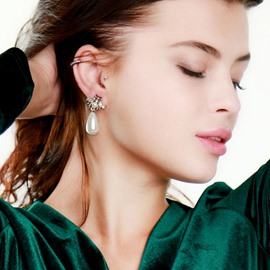 boucles d'oreilles ericdress animal diamante party sweet