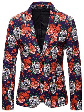 Ericdress Single-Breasted Floral Men's Leisure Blazers
