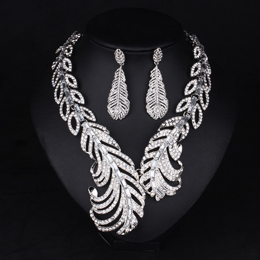 Ericdress Feather Earrings Anniversary Jewelry Sets