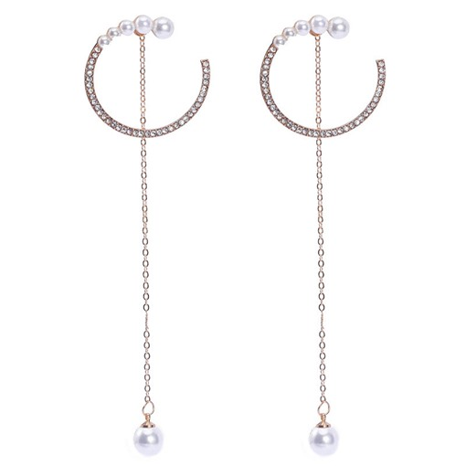Ericdress Diamante Plain Holiday Earrings