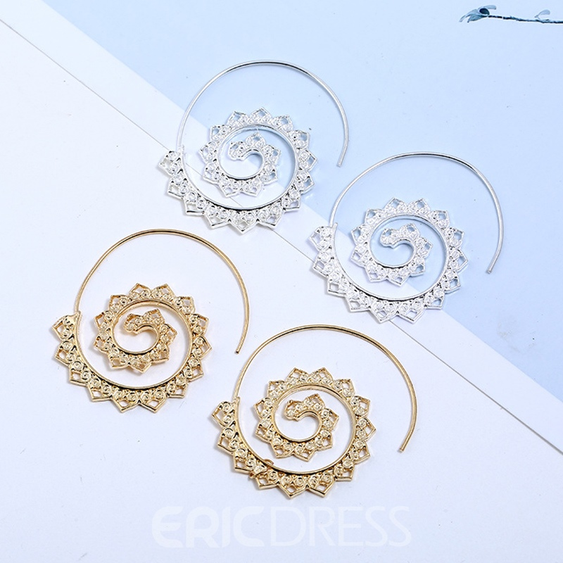 Ericdress Heart-Shaped E-Plating Party Earrings