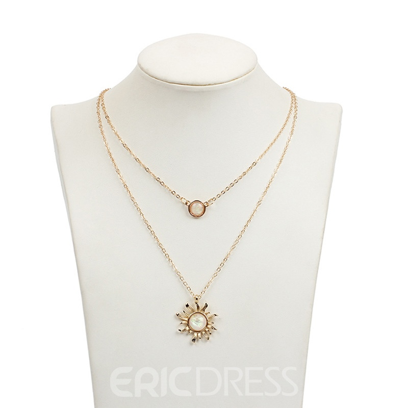 Ericdress Link Chain E-Plating Vintage Female Necklaces