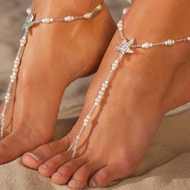 Ericdress Sweet Female Pearl Women's Anklets
