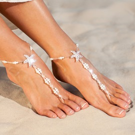 Ericdress Female Sweet Pearl Anklets