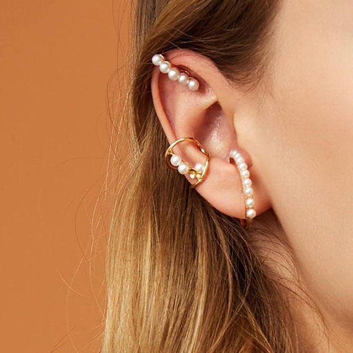 Ericdress Pearl Inlaid Alloy Prom Women's Earrings