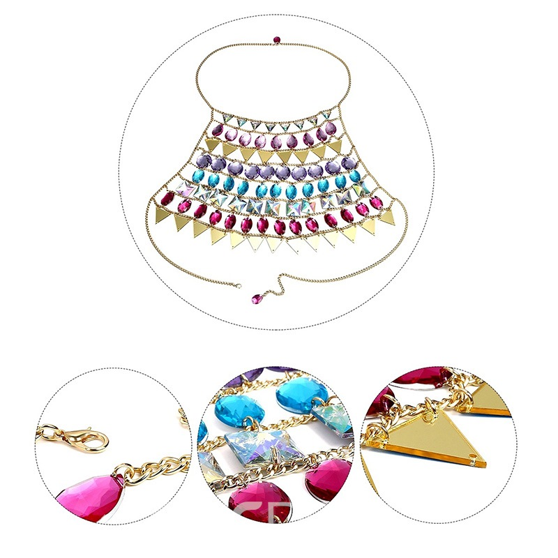 Ericdress European Crystal Inlaid Female Necklaces