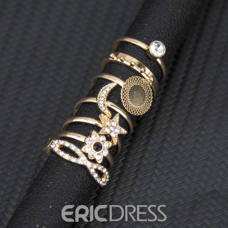Ericdress Diamante Romantic Anniversary Women's Rings