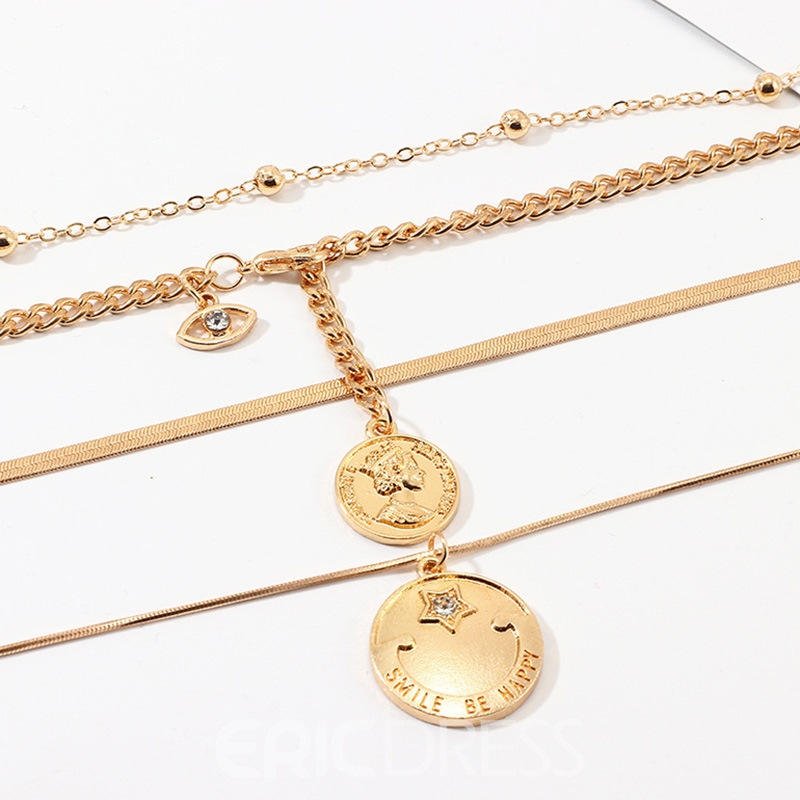 Ericdress Pendant Vintage E-Plating Female Necklaces