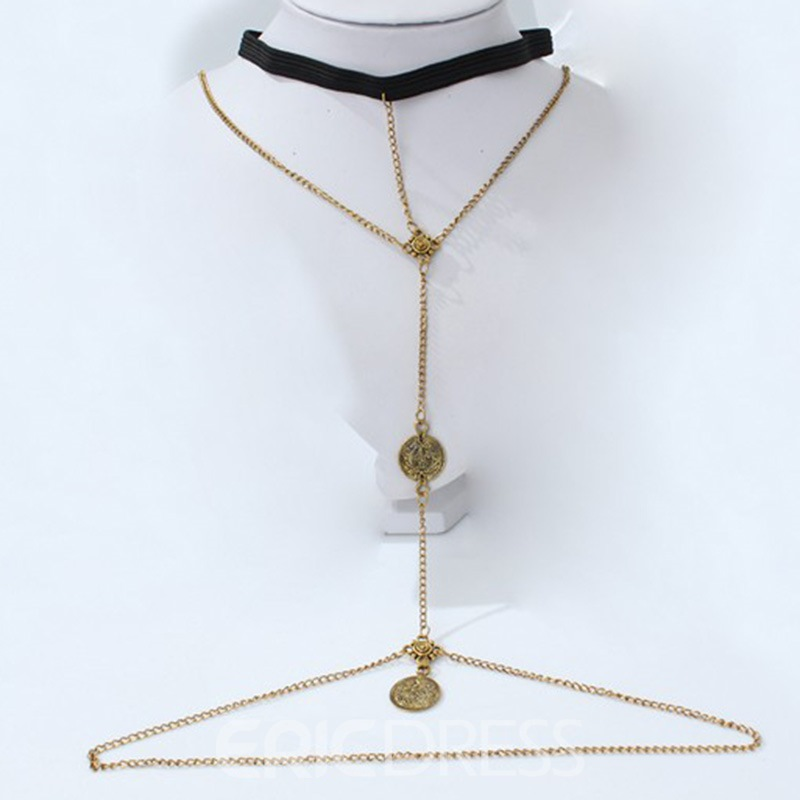 Ericdress E-Plating Wedding European Female Necklaces