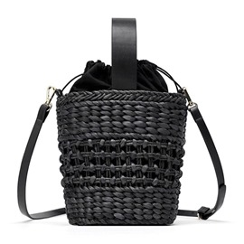 Ericdress Grass Plain Knitted Barrel-Shaped Tote Bags