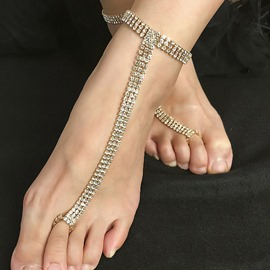 Ericdress Romantic Female Alloy Anklets