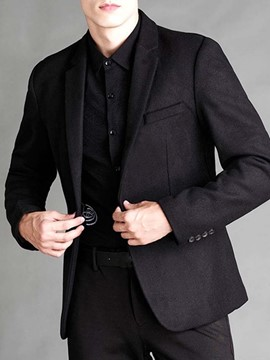 Ericdress Notched Lapel Slim One Button leisure Suit