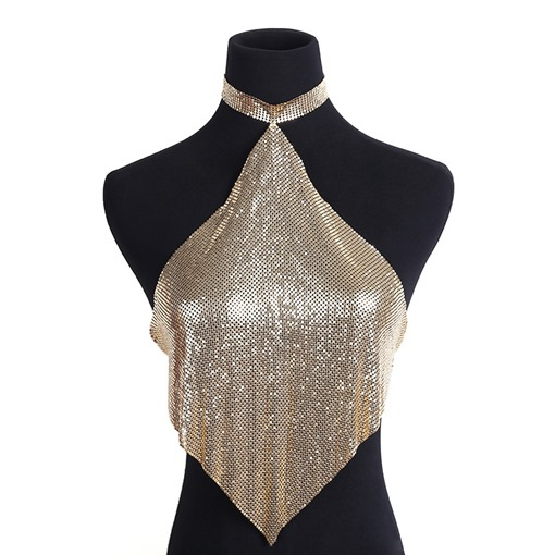 Ericdress Body Chain E-Plating Western Female Necklaces