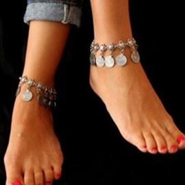 Ericdress Vintage E-Plating Alloy Anklets
