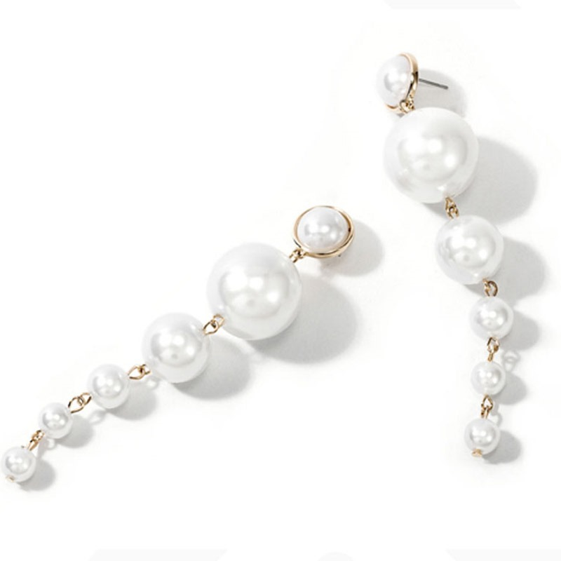 Ericdress Plain Pearl Sweet Birthday Earrings