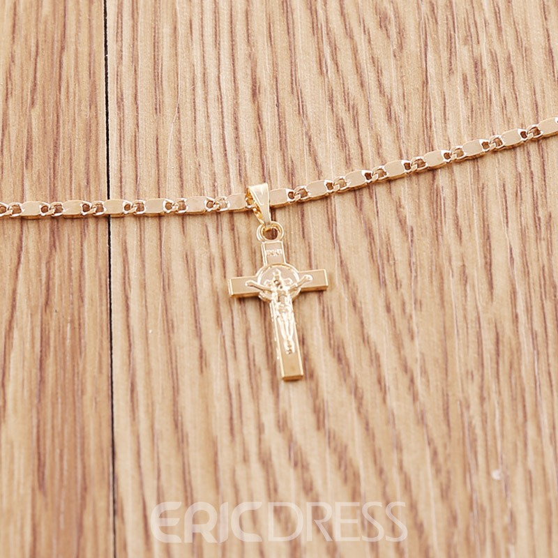 Ericdress Pendant E-Plating Female Necklaces