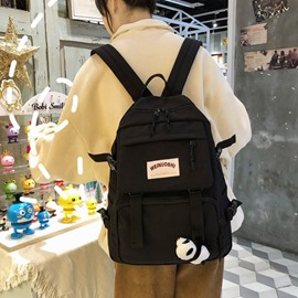 Ericdress Belt-Decorated Casual Oxford Backpacks
