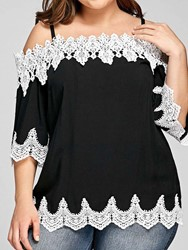 Ericdress Mid-Length Three-Quarter Sleeve Blouse фото