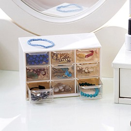 Ericdress Simple Plastic Plain Storage Boxes