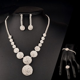 Ericdress Romantic Earrings Engagement Jewelry Sets