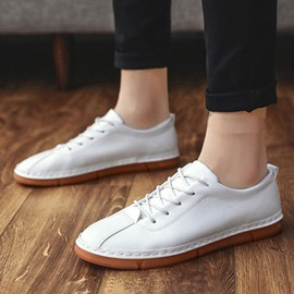 Ericdress Flat With Low-Cut Upper Plain PU Leather Shoes