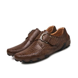 Ericdress Flat With Low-Cut Upper PU Leather Men's Shoes