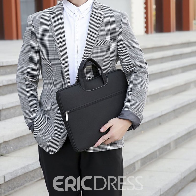 Ericdress Polyester Office Plain Laptop Tote Bags