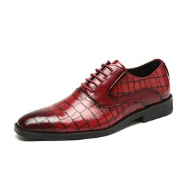 Ericdress Flat With Low-Cut Upper Men's PU Leather Shoes