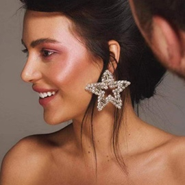 Ericdress Star Alloy Birthday Earrings