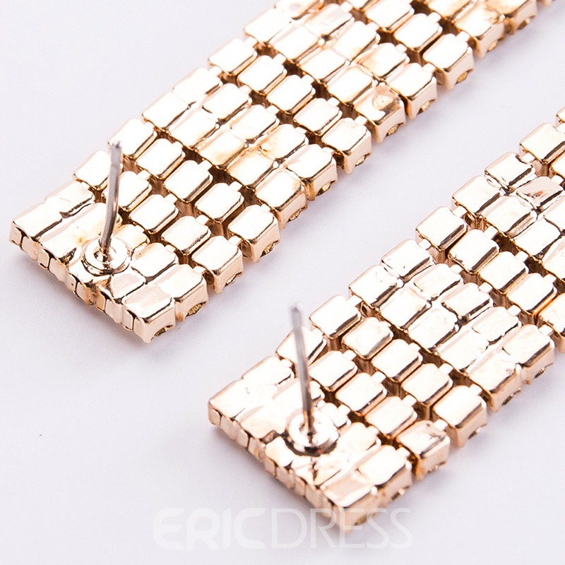 Ericdress European Alloy Birthday Women's Earrings