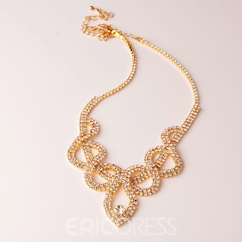 Ericdress Earrings Romantic Wedding Jewelry Sets