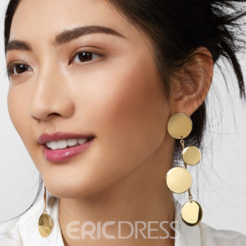 Ericdress Plain Alloy Party Earrings