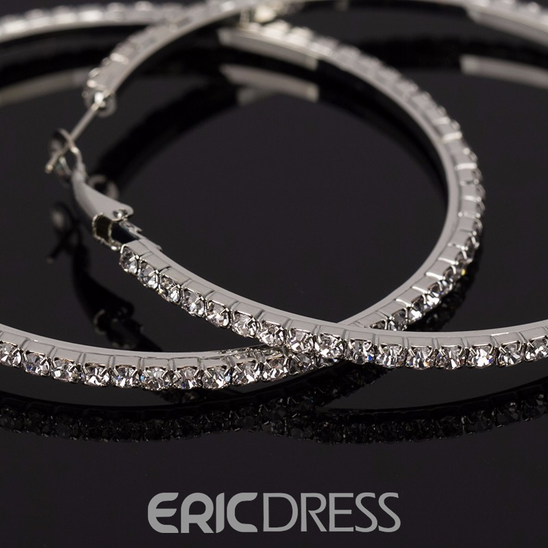 Ericdress Romantic Rhinestone Wedding Earrings