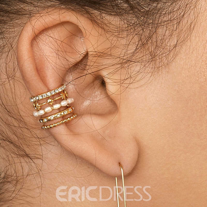 Ericdress Diamante Alloy Birthday Women's Earrings