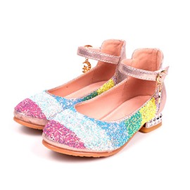 Ericdress Round Toe Color Block Four Seasons Thin Shoes