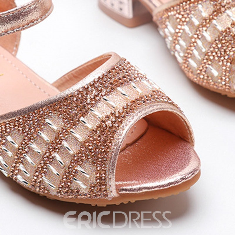 Ericdress Low-Cut Upper Peep Toe Sandals