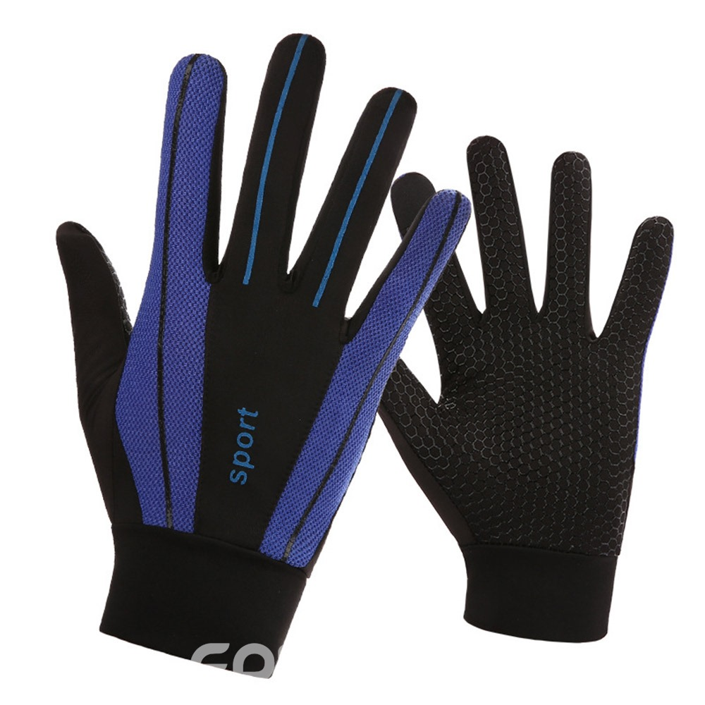 Ericdress Bike Bicycle Gloves Full Finger Touchscreen Gloves Breathable Mittens