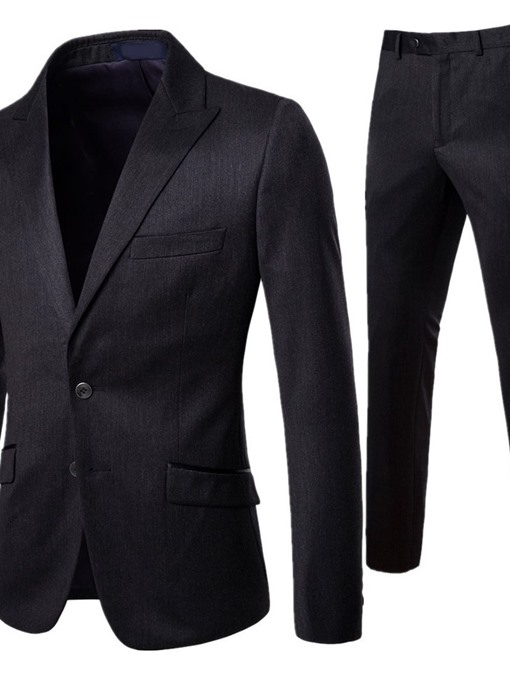 Ericdress Plain Single-Breasted Casual Dress Suit