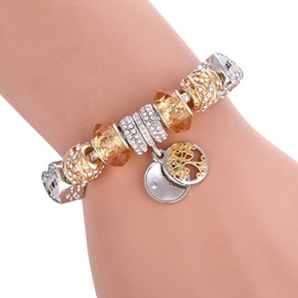Ericdress Romantic Diamante Unisex Bracelets